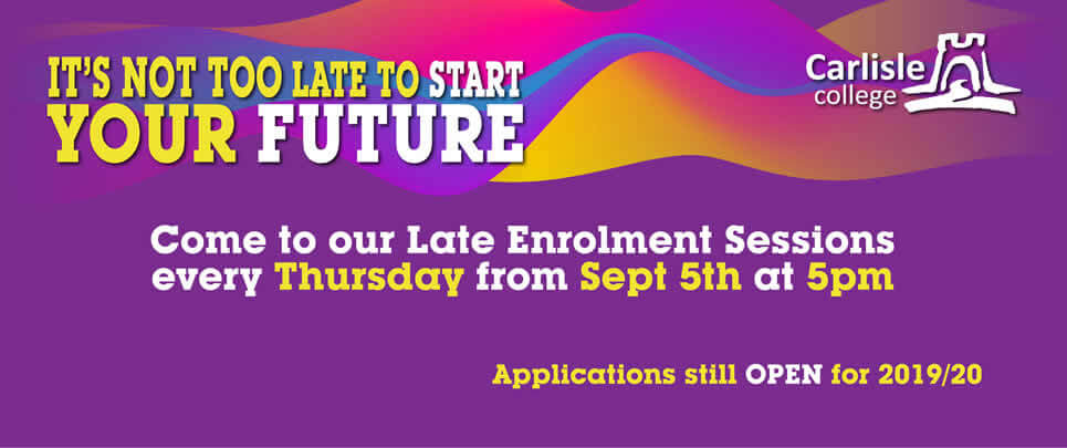 Apply now for September 2019 banner
