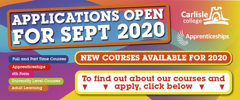 Applications now open for September 2020